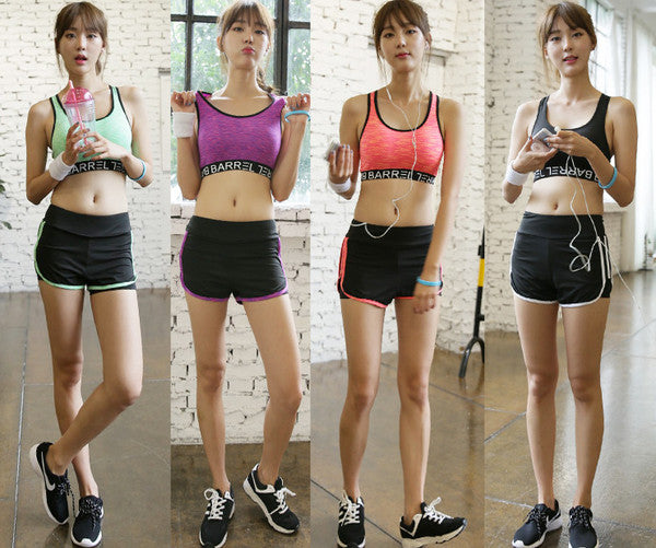 High Quality Three Pieces Yoga Active Wear Women Suits