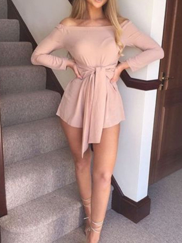 Off The Shoulder Bandage Sexy Rompers