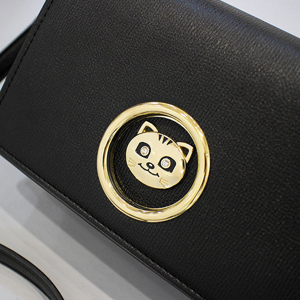 Fashion Easy Match Mental Cat Design Shoulder Bag - My Fabulous Closet