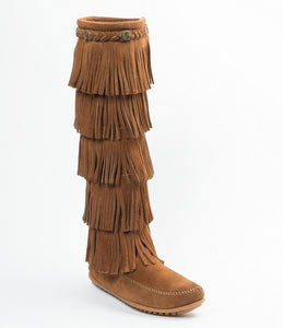 Women's 5 Layer Minnetonka Boot