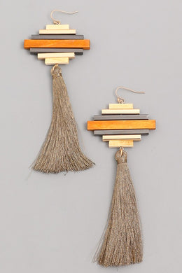 New Stacked Bar Earrings