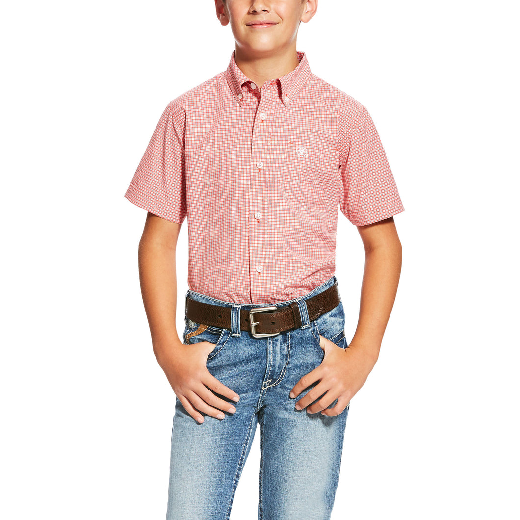 Newark Short Sleeve Perf Dubarry - Boys