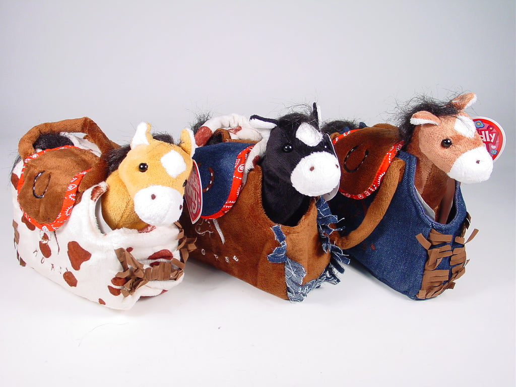 Western Style Horse in Purse
