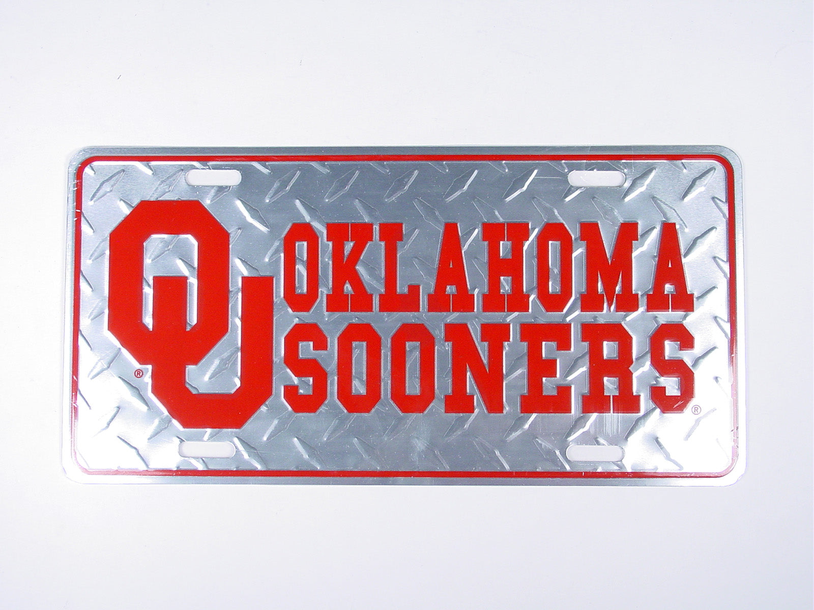 OU Diamond License Plate