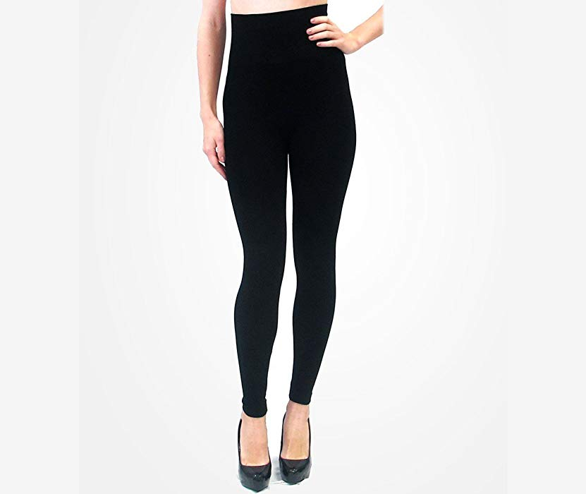 High Waist Leggings Black PLUS