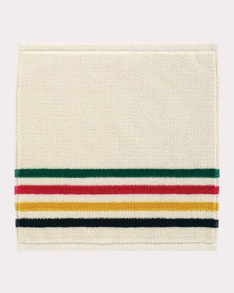 National Park Wash Cloth WHT