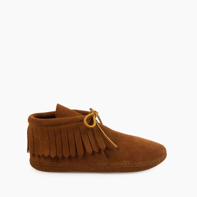 Women's Classic Fringe Soft Sole Brown