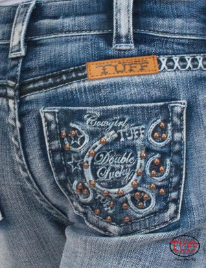 Girl's Double Lucky Studs Jean