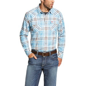 FR Maddox Retro Blue Plaid