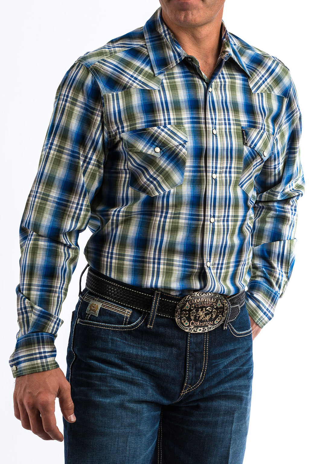 Cinch Men's Pearl Snap