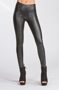 Black Pleather Legging