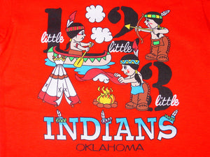 OK Little Indians KIDS T SM 2T