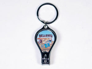 OK Nail Clipper Key Ring