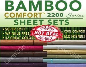 Full Bamboo Sheet Set