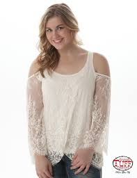 CRM LACE COLD SHOULDER
