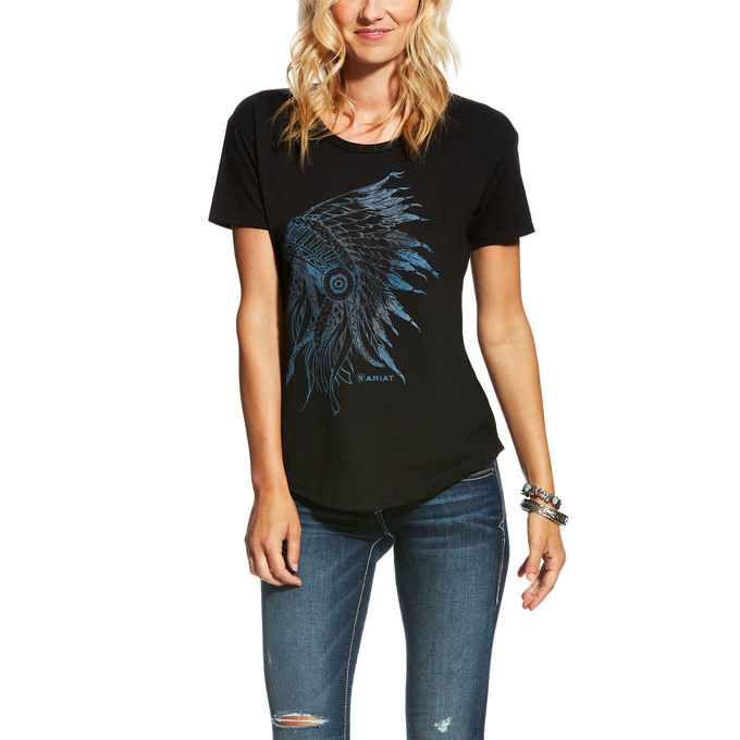 Women's Chief Tee Black