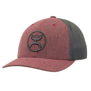 "Hooey ""Cody Ohl"" Maroon/Gray Trucker Cap - Youth"