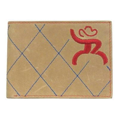 Roughy Signature Blue & Red Stitching Bifold