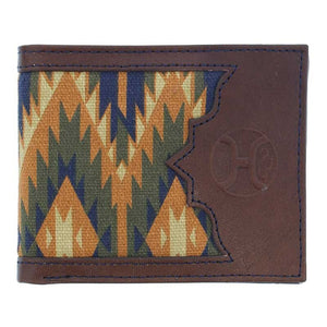 Hooey Bifold Wallet Aztec Canvas