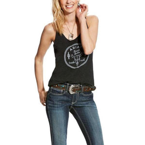 Cow lock up tank vintage black