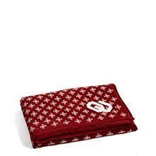 XL Throw Blanket Cardinal/White OU