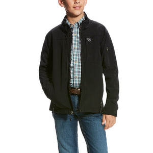 Boys Vernon 2.0 Softshell Jacket BLK