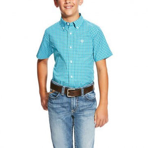 Negan Short Sleeve Perf Blue Bird - Boys