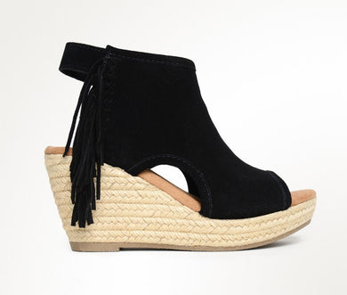 Blaire Blk Wedge