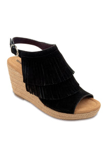 Ashley Wedge Black