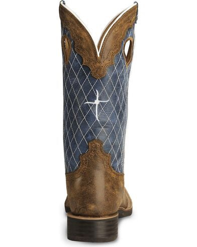 Men' Twisted X Ruff Stock Boot MRS0027
