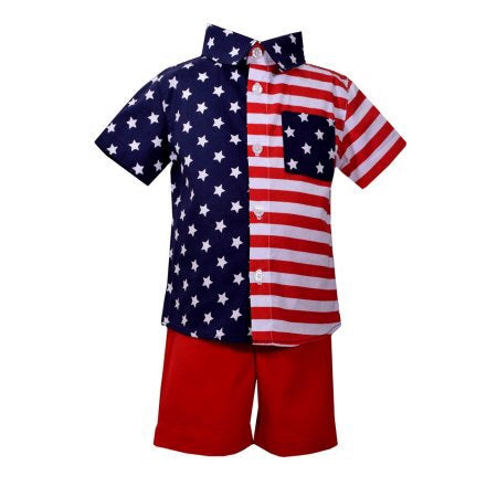 Stars & Stripes 2pc Set Infant