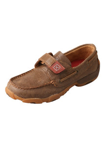 CDM0003 Children's Driving Mocs Velcro