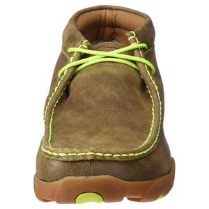 MDM0026 Men's Driving Mocs Neon Yellow