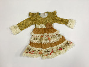 Girls Fall French Inspired Wootie Pie Dress