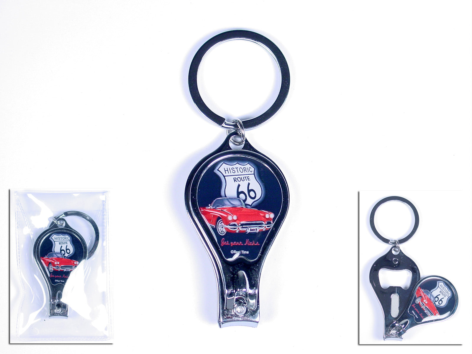 R66 Nail Clipper Key Ring