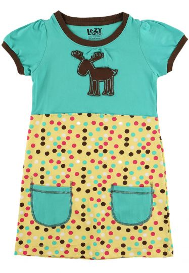 Moose Dot Tee Dress