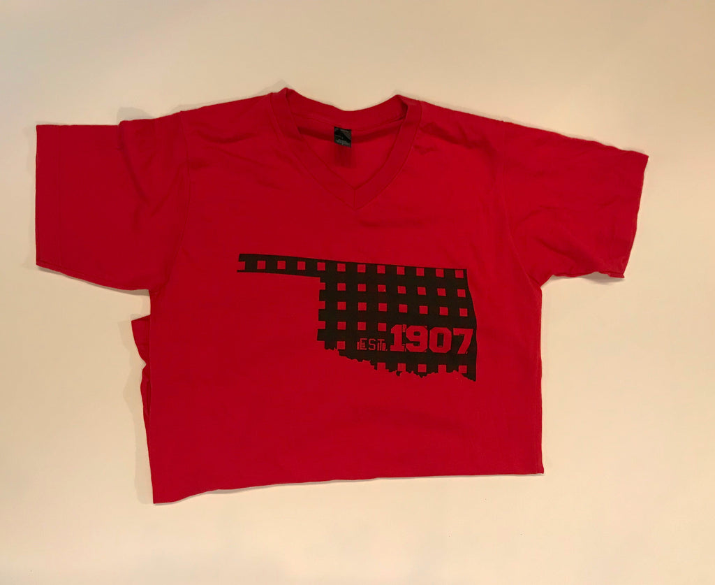 Red 1907 Oklahoma Tee