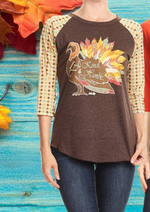 Fall Humble Turkey Shirt