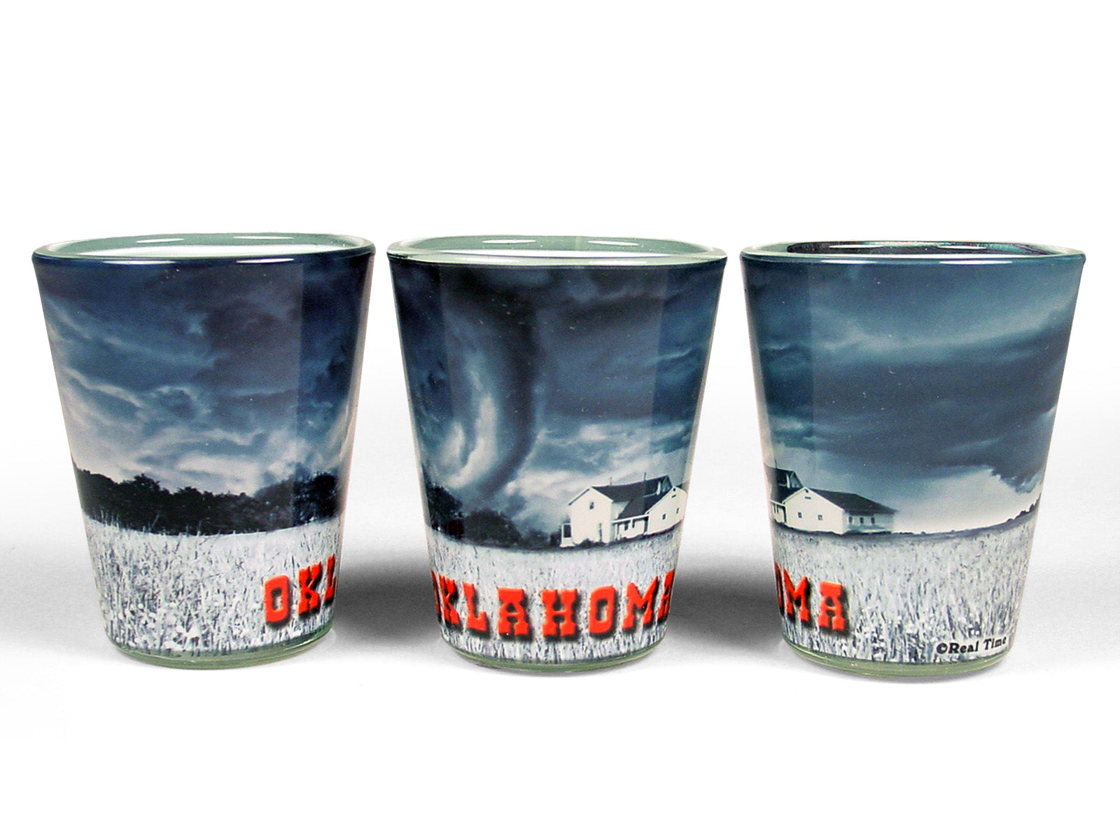 OK Tornado Shot Glass
