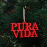 Pura Vida Christmas Ornament