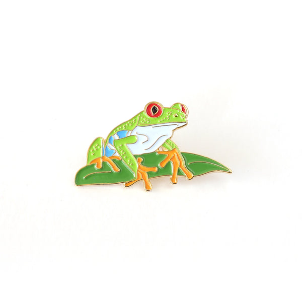 Red-eyed treefrog Enamel Pin