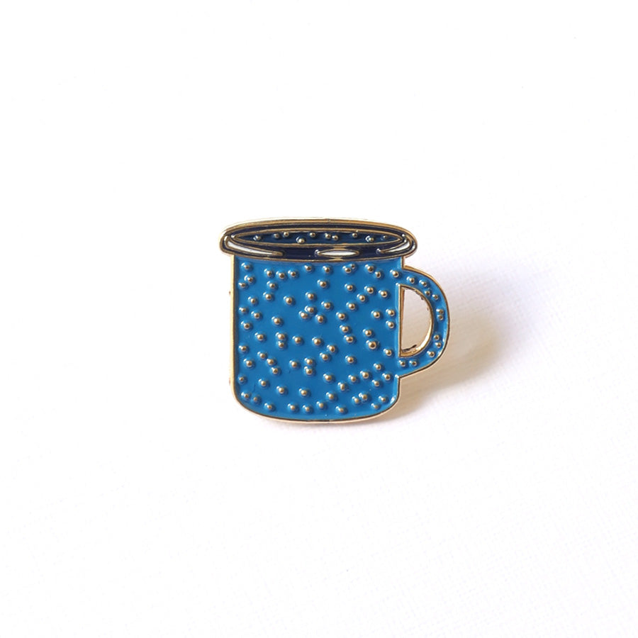 Coffee Cup Enamel Pin