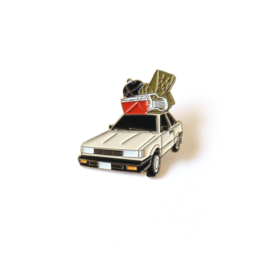Family Road Trip Enamel Pin