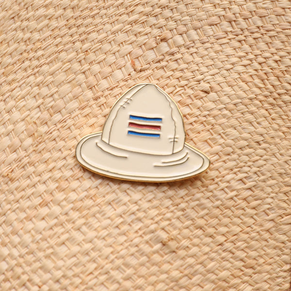 Costa Rica Hat Enamel Pin