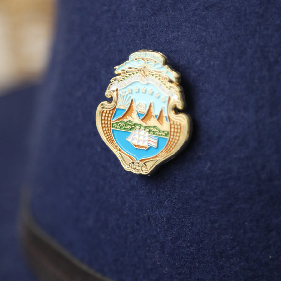 National Shield Enamel Pin