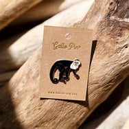 White-faced Monkey Enamel Pin