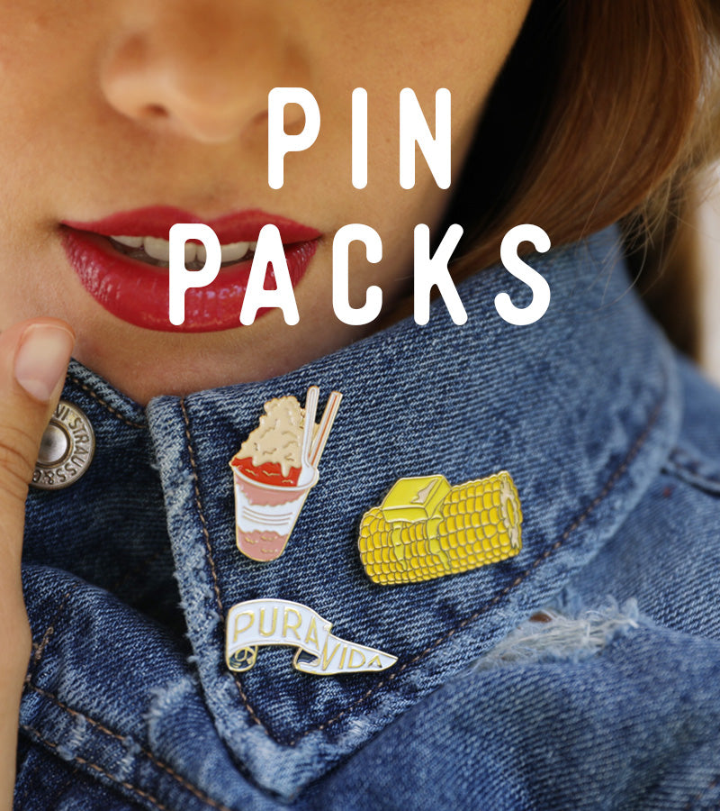 Enamel Pin - Pack