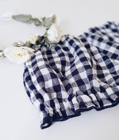 Fia & Bo Sunday Bloomers - Navy Check