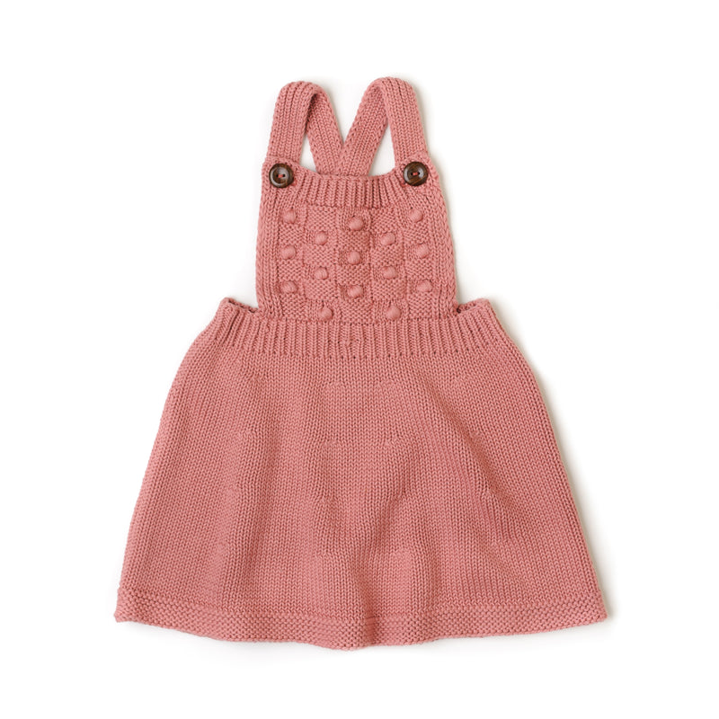 Fin & Vince Knit Dress - Dusty Rose
