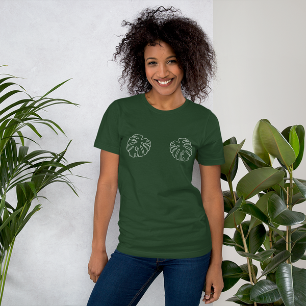 Monstera Unisex T shirt